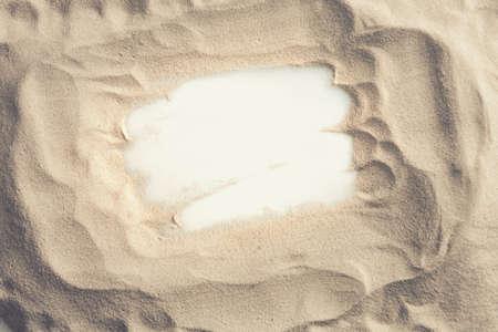 suelo arenoso: Textura de la arena de playa. Playa de arena para el fondo. Foto de archivo