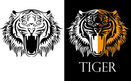 logotype: tattoo tiger logotype