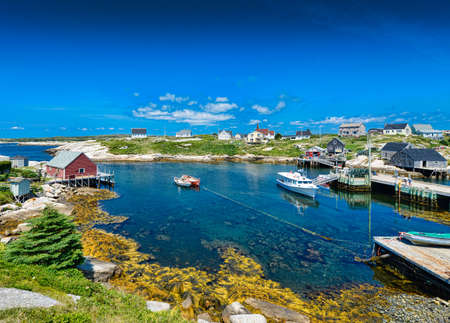 cove: Peggys Cove Nova Scotia