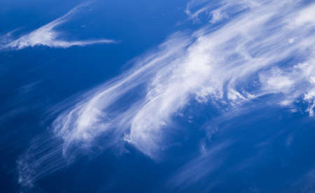 cirrus: Cirrus Clouds Or Mares Tails Stock Photo