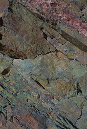 metamorphic: Metamorphic Rock Layers