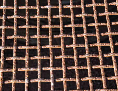 metal grate: Metal Grate Texture Stock Photo
