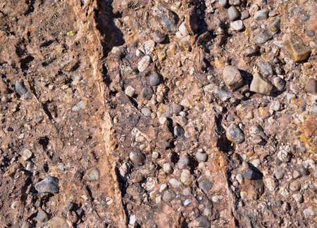 Conglomeraat Rock Layer Stockfoto