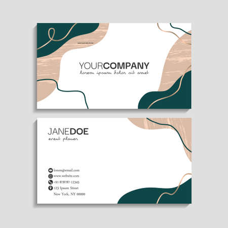 Modern Business-Card Set   EPS10 Compatibility Required vector illustration