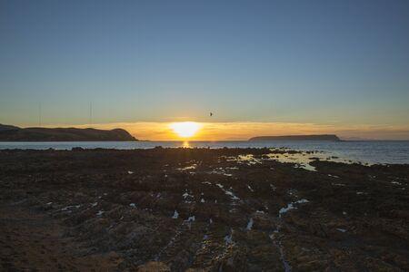 coastal: Coastal Sunset Stock Photo