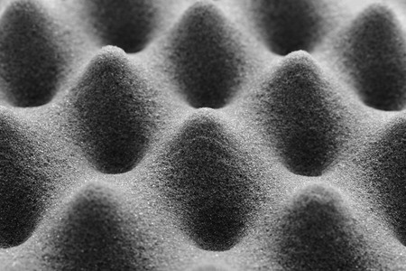 Texture - background of studio soundproof foam. Stock Photo