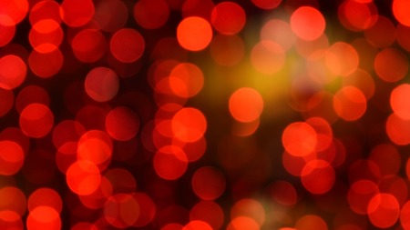 Red christmas bokeh with light beautifully little lights. Blurred background. Place for your text, message or congratulations. Defocused abstract red background. 版權商用圖片