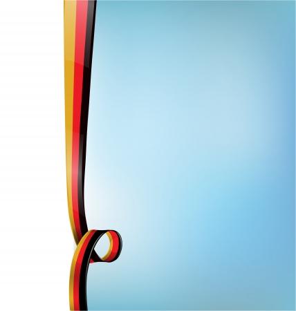 germanic: background with germany flag Illustration