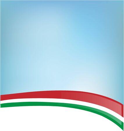 italian flag: background with Italian flag Illustration