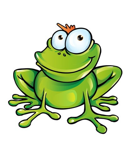 funny frog  Stock Vector - 18514038