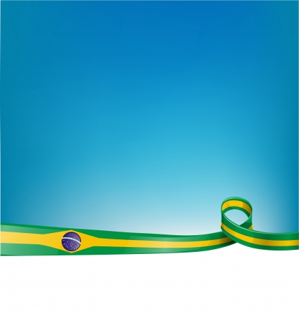 voting paper: flag brazil background