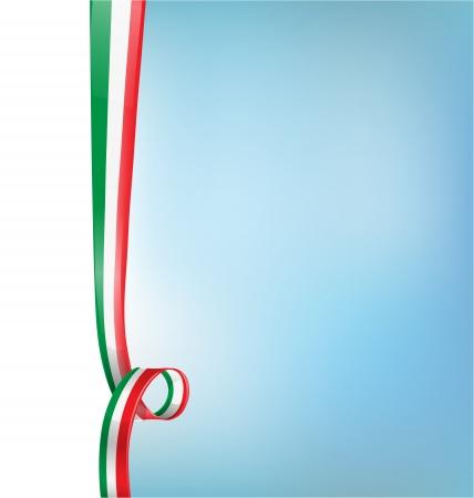 Italiaanse achtergrond vlag