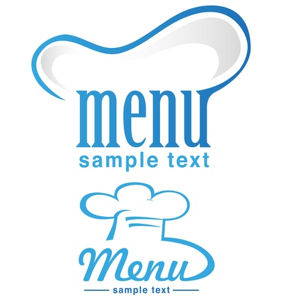 chef hat: menu project  Illustration