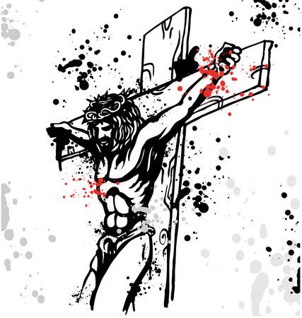 Gesù Векторная Иллюстрация