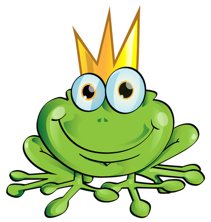 frog prince Illustration