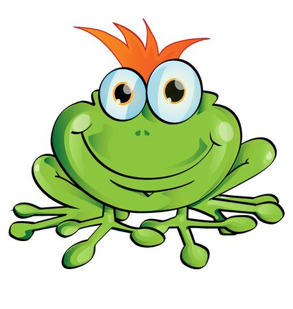 tree frogs: rana divertida