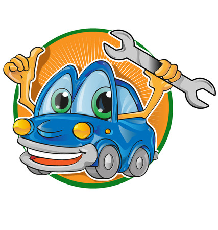car service cartoon  Vector