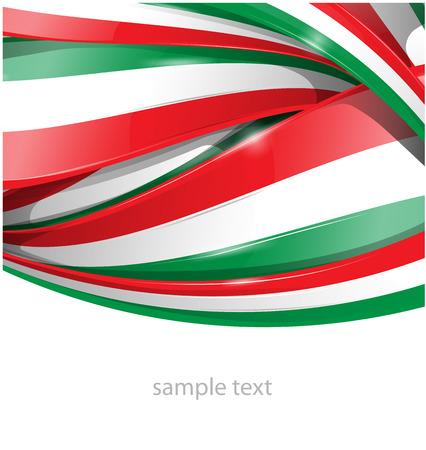 bandera de italia: Italiana y mexicana fondo de la bandera