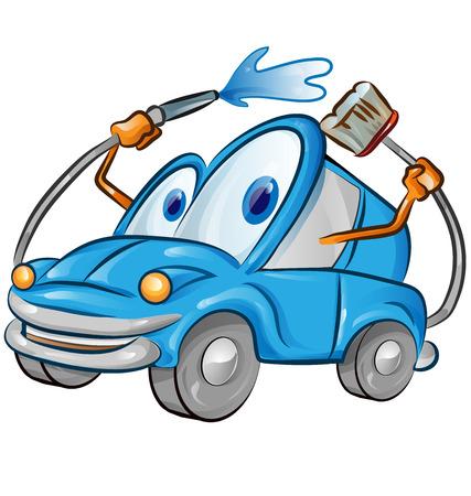 carwash: car wash cartoon