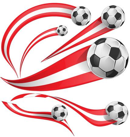 bandera de peru: bandera de Perú con balón de fútbol