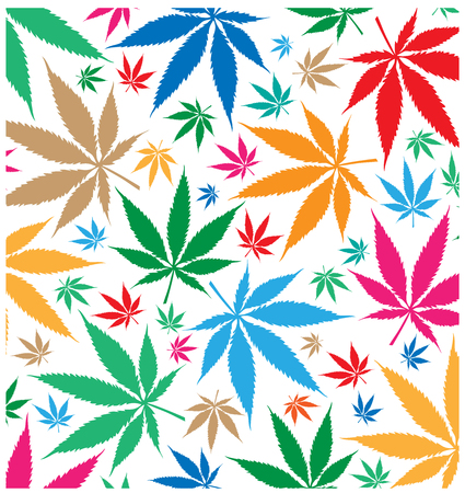 marijuana color pattern  background
