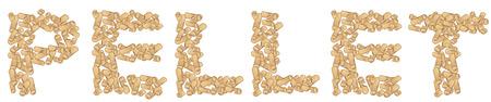 pastille écrite isolé sur blanc .vector illustration