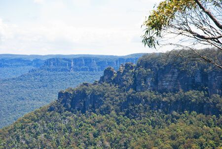 Beautiful Blue Mountains of Australia Zdjęcie Seryjne