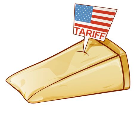 parmesan, United States tariffs on Europe as protectionist trade