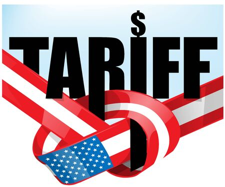 United States flag tariffs .protectionist trade