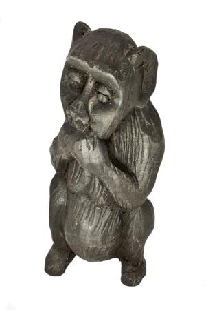Wooden monkey statue Stock Photo - 11024576