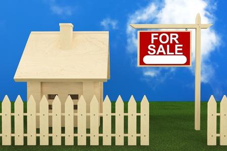 home for sale: Home Sign vendita con Bella Casa in legno
