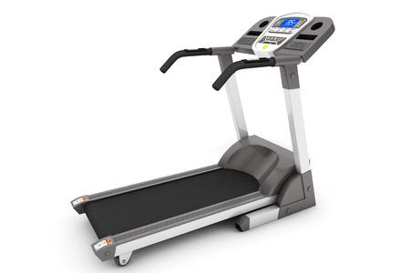 treadmill: Treadmill Machine on a white background