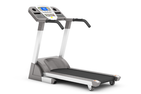Treadmill Machine on a white background Imagens - 34172480