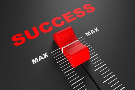 max: Max Success Value Mixer Slider extreme closeup