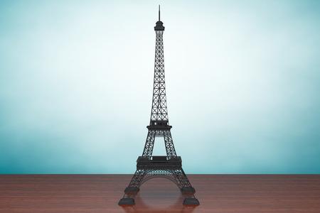 parisian: Eiffel Tower on the table