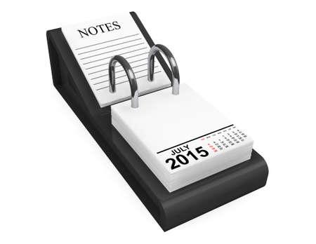 july calendar: 2015 year July calendar on a white background