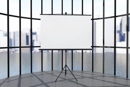 Blanco projectiescherm voor ramen