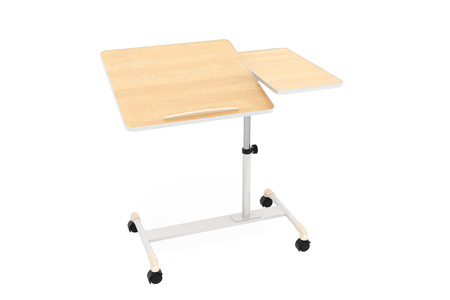 comfort classroom: Wooden School, Home and Office Laptop Desk on a white background