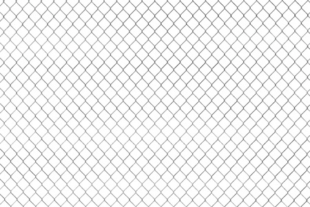 wired: Wired fence pattern on a white background
