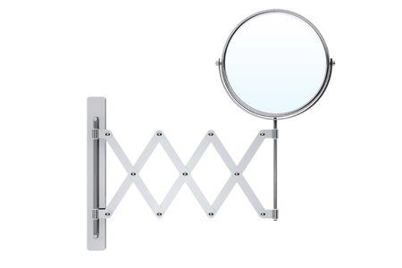 penumbra: Sliding Chrome Makeup Mirror on a white background