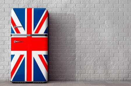 Smeg Kühlschrank Union Jack : Retro kühlschrank union jack: union jack flag vintage stockfotos