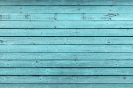 Rustikale alte verwitterte blaue Holzplanke Hintergrund extreme Nahaufnahme Background