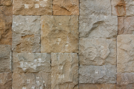 Chipped Stone Wall Background extreme closeup