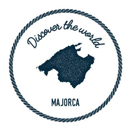 Mallorca Karte Umriss.Mallorca Karte Ubersicht Weinlese Entdecken Sie Die
