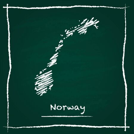 Norway Map Vector Cliparts Stock Vector And Royalty Free - Norway map drawing