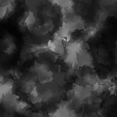 gouache: Black and white watercolor texture background. Delightful abstract black and white watercolor texture pattern. Expressive messy vector illustration. Illustration