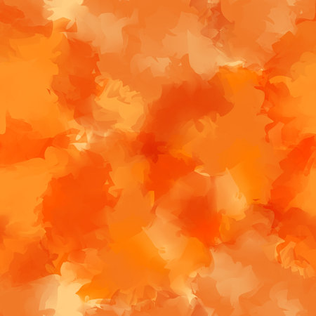 dribbling: Orange watercolor texture background. Great abstract orange watercolor texture pattern. Expressive messy vector illustration. Illustration