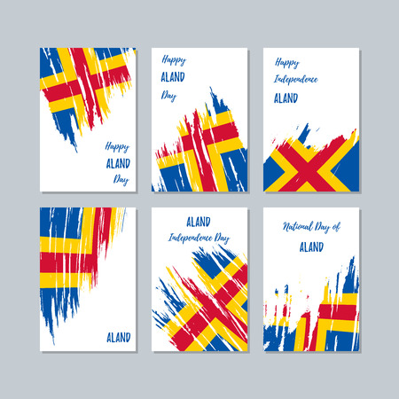 Aland patriotic cards for national day.
