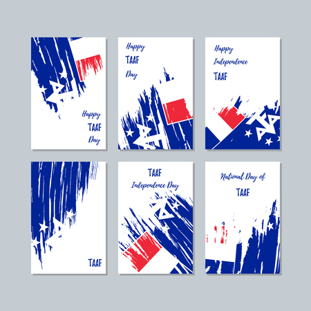 TAAF patriotic cards for national day.