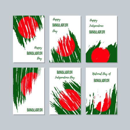 Bangladesh patriotic cards for national day.